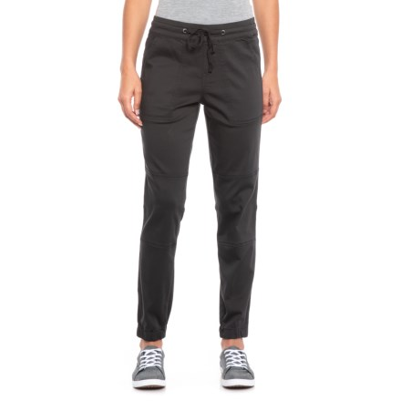63c824c4faa Supplies by UNIONBAY Demerey Soft Sateen Joggers (For Women) in Black -  Closeouts