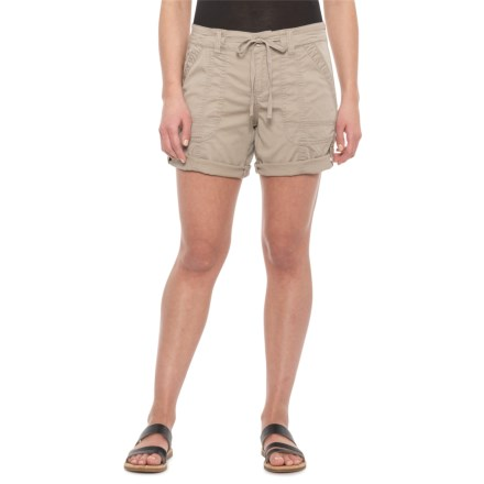 03c162b81f Supplies by UNIONBAY Taupe Marty Twill Shorts (For Women) in Taupe