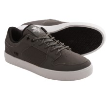 Supra Vaider LC Skate Shoes (For Men) in Charcoal - Closeouts