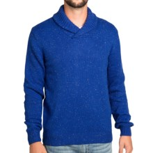 Surfside Supply Company Brandon Sweater - Shawl Collar (For Men) in Cobalt - Closeouts