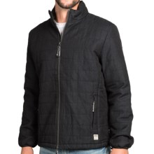 Surfside Supply Company Miles Jacket - Insulated, Zip Front (For Men) in Charcoal - Closeouts