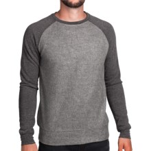 Surfside Supply Company PJ Plush Raglan Shirt - Long Sleeve (For Men) in Charcoal - Closeouts
