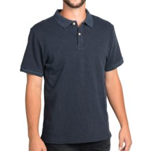 Surfside Supply Company Rick Slub Jersey Polo Shirt - Short Sleeve (For Men) in Midnight - Closeouts
