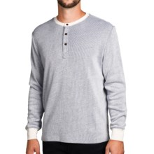 Surfside Supply Company Sean 2-Ply Thermal Shirt - Long Sleeve (For Men) in White - Closeouts