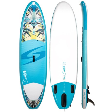 Surftech Air-Travel Day Cruiser Inflatable Stand-Up Paddle Board - 10  in d6a543747