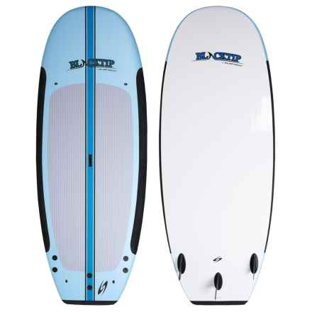 Surftech Blacktip Wide Stand-Up Paddle Board with Paddle - 8' in Blue - Closeouts