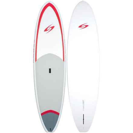"Surftech Universal Coretech Stand-Up Paddle Board- 10'6""x2'8"" in White/Red - Closeouts"
