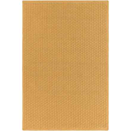 Surya Barcelona Indoor-Outdoor Area Rug - 4x6', Reversible in Camel - Closeouts