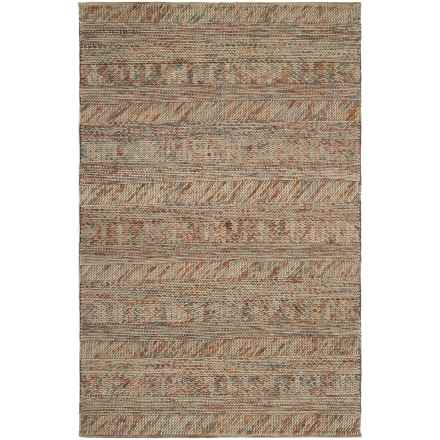 Surya Norway Area Rug - 5x8', Handwoven Felted Wool in Camel/Gray - Closeouts