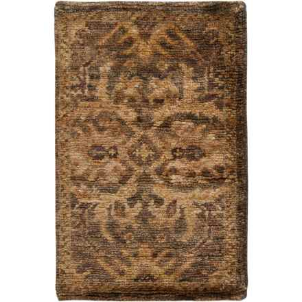 Surya Scarborough Accent Rug - 2x3', Hand-Knotted Wool in Charcoal/Khaki - Closeouts