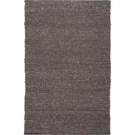 Surya Tahoe Area Rug - 8x10', Handwoven Wool in Black - Closeouts