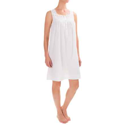 Susan Bristol Chemise Nightgown - Sleeveless (For Women) in White - Closeouts