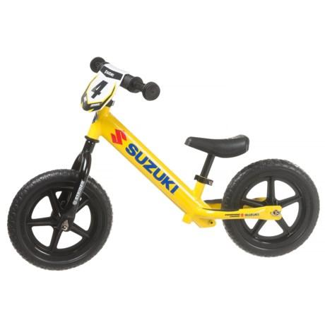Suzuki 12 Sport No-Pedal Balance Bike (For Little Kids)