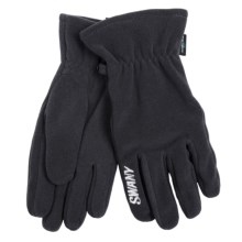 Swany Eco-Fleece Gloves (For Men) in Grey - Closeouts