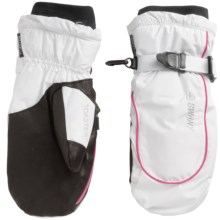 Swany Jetter Mittens - Insulated (For Women) in White/Magenta - Closeouts