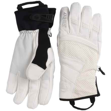 Swany Jib II Gloves - Waterproof, Insulated (For Men) in White - Closeouts