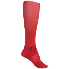 Swiftwick Aspire 12 Athletic Socks - Over the Calf (For Men and Women) in Red - Closeouts