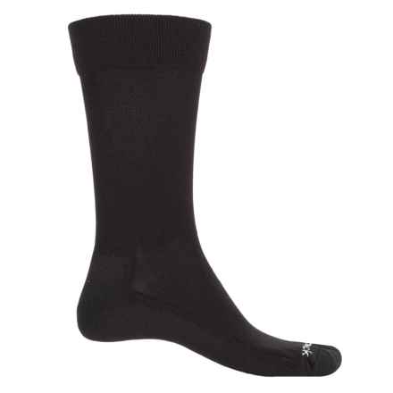 Swiftwick Diabetic Seven Socks - Crew, Loose Fit (For Men) in Black - Closeouts