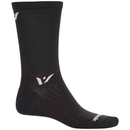 Swiftwick Sustain Athletic Socks - Crew (For Men and Women) in Black - Closeouts