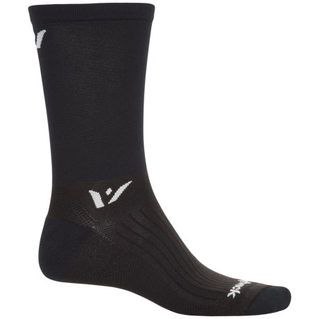 Swiftwick Sustain Athletic Socks - Crew (For Men and Women) in Black