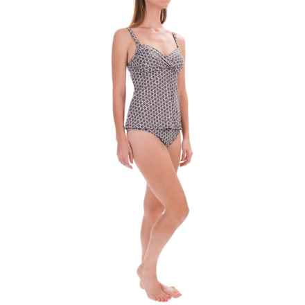 Swim Systems Cross Tankini Set - Underwire, Brief Bottoms (For Women) in Boca Raton - Closeouts