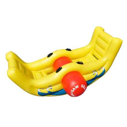 Swimline Inflatable Sea-Saw Rocker Pool Float in See Photo - Closeouts