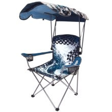 Swimways Original Canopy Patio Chair - UPF 50+ in Blue Wave - Closeouts