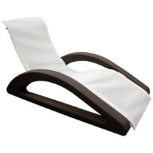SwimWays Riviera Chaise Pool and Patio Lounger in Chocolate - Closeouts