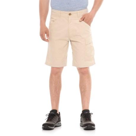 Swiss Alps Cargo Pocket Shorts (For Men) in Tan