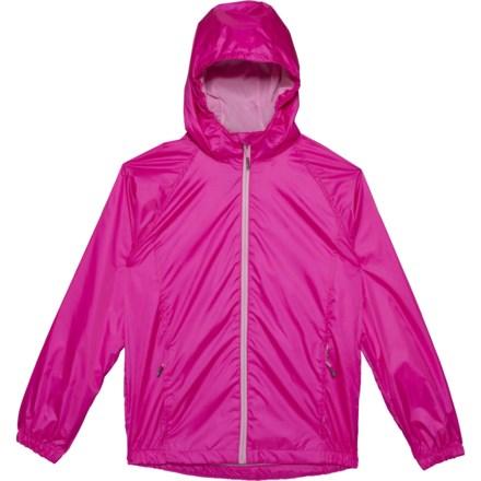 f78f88d9489 Swiss Alps Intense Pink Rain Jacket - Waterproof (For Big Girls) in Intense  Pink