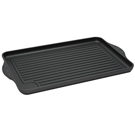"Swiss Diamond Double Burner Grill - 17x11"", Nonstick in See Photo"