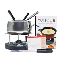 Swissmar Meat & Seafood Fondue Set in Stainless Steel - Closeouts