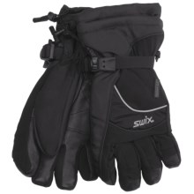 Swix Apex Gloves - Waterproof, 3-in-1 System (For Men) in Black - Closeouts