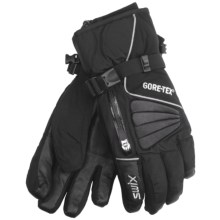 Swix Avant Garde Gore-Tex® Gloves - Waterproof (For Men) in Black - Closeouts