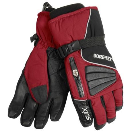 Swix Avant Garde Gore-Tex® Gloves - Waterproof (For Men) in Red/Black