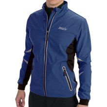 Swix Bergan Soft Shell Jacket (For Men) in Bijou Blue - Closeouts