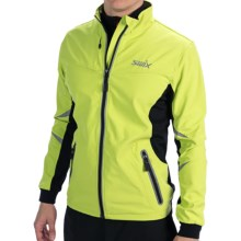 Swix Bergan Soft Shell Jacket (For Men) in Sunny Lime - Closeouts