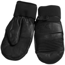 Swix Boxer Thermolite® Mittens - Waterproof (For Men) in Black - Closeouts