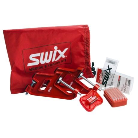Swix Deluxe Alpine Ski Tuning Kit in See Photo