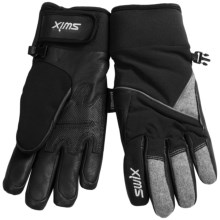 Swix Doe Gloves - Waterproof (For Women) in Black/Grey - Closeouts