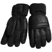 Swix Edge Thermolite® Gloves - Waterproof (For Men) in Black - Closeouts