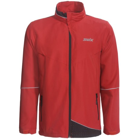 Swix Fleet Wind Jacket (For Men) in Red