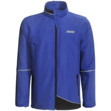 Swix Fleet Wind Jacket (For Men) in Royal - Closeouts