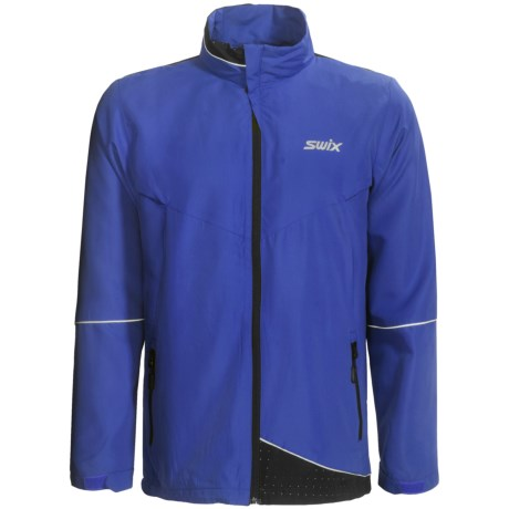 Swix Fleet Wind Jacket (For Men) in Royal