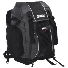 Swix Gear Rucksack Snowsport Backpack in Black/Charcoal - Closeouts