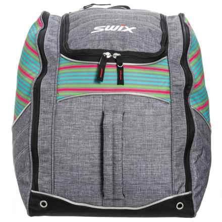 Swix Low Pro Maeve Tri-Pack Boot Bag in Multi Stripe - Closeouts
