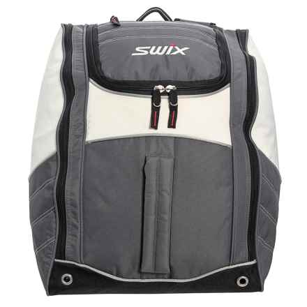 Swix Low Pro Teagan Tri Pack Boot Bag in White/Grey - Closeouts