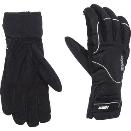 c74d95d2ca0f0 Swix Membrane 4.0 Ski Gloves - Insulated (For Women) in White/Black
