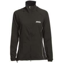 Swix Oslo Jacket - Soft Shell (For Women) in Black - Closeouts