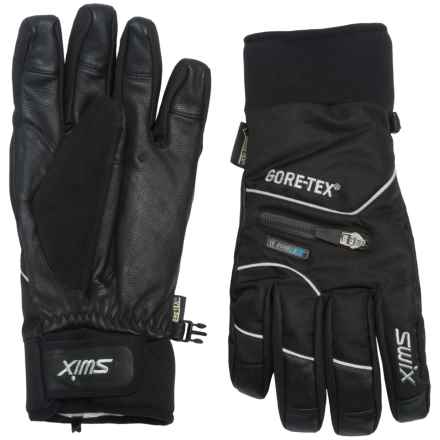 Swix Rage Gore-Tex® Gloves - Waterproof, Insulated (For Men) in Black - Closeouts